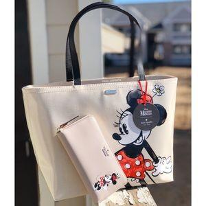 Kate Spade Disney Minnie Mouse Tote Wallet